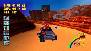 Woody Woodpecker Racing Gameplay World Championship (PlayStation,PSX)