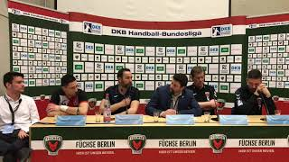 Pressekonferenz Füchse Berlin - BM Logroño La Rioja e0cea6e8ebd8a