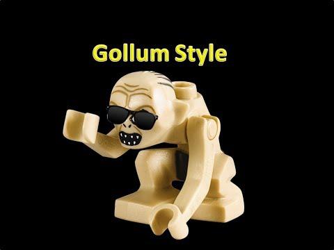 Lego Gollum style