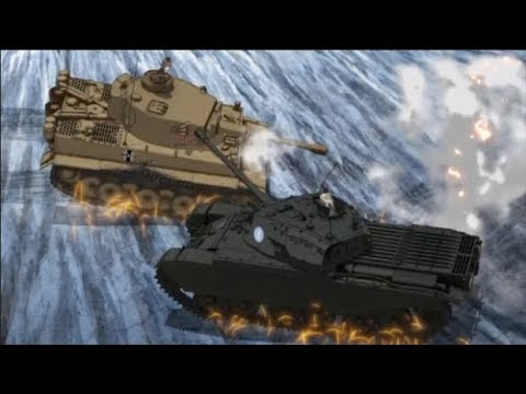 BEST TANK FIRE SCENE 3 Ver.2018 (Girls und Panzer Movie Final battle)