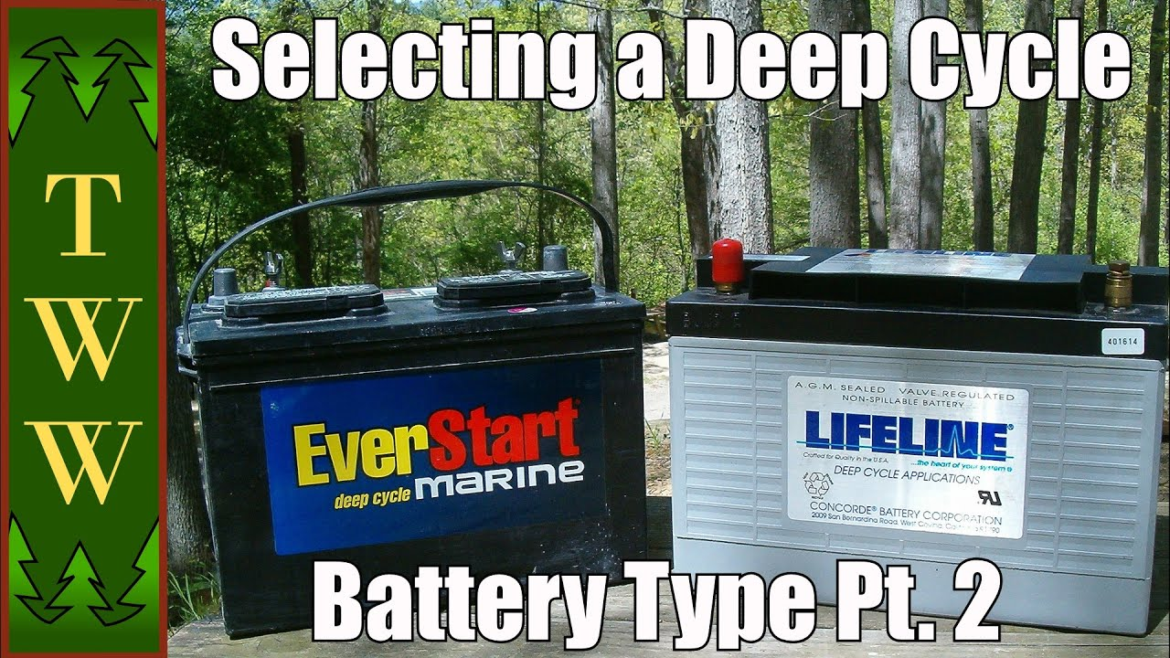 Selecting a Deep Cycle Battery Type for Your RV Pt 2