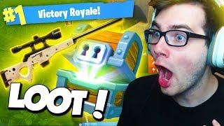 GETTING THE BEST LOOT EVER! (Duo Fortnite Battle Royale #1)