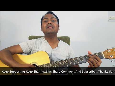 """PHIR LE AAYA DIL - BARFI """"COMPLETE EASY GUITAR LESSON/TUTORIAL AND CHORDS"""""""