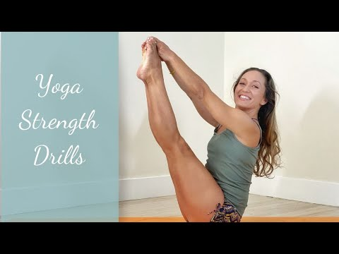 Yoga Strength Drills - Core And Shoulders