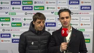 Entrevista a Bittor Alkiza en la previa del #GetafeOsasuna