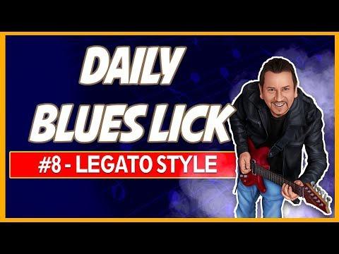Legato Pentatonic E Blues Lick - Daily Blues Licks #8