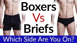 Boxers Vs Briefs Vs Boxer Briefs | Which Men