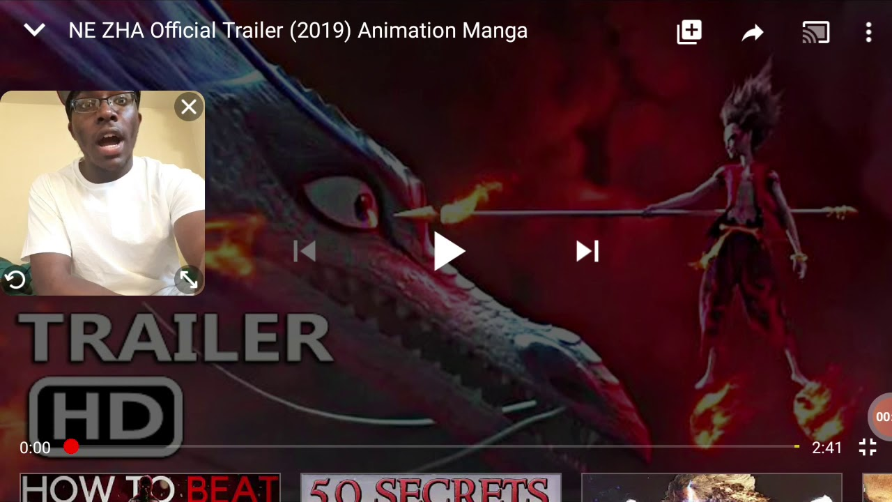 Download NE ZHA OFFICIAL trailer reaction!!! This is amazing 🔥🔥🔥