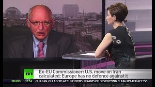 US holding EU hostage over Iran – ex-EU commissioner thumbnail