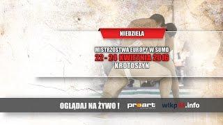 Mistrzostwa Europy w Sumo - Niedziela 24.04.2016 Krotoszyn