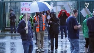 VIDEO: Hundreds of ambulance personnel stage 24-hour nationwide strike