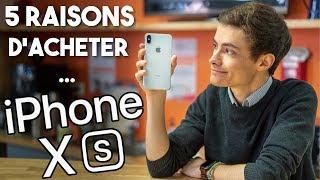 5 RAISONS d'acheter l'iPhone XS ? (Après 1 mois d'utilisation)