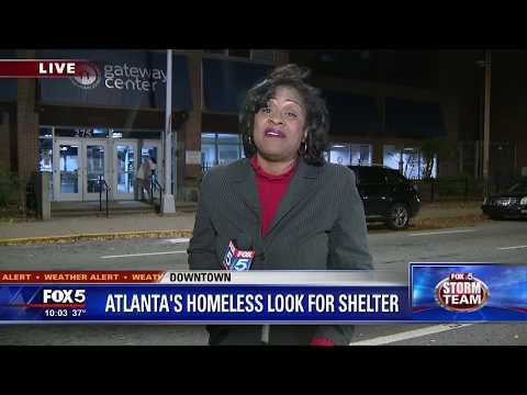 Atlanta's Homeless Look For Shelter