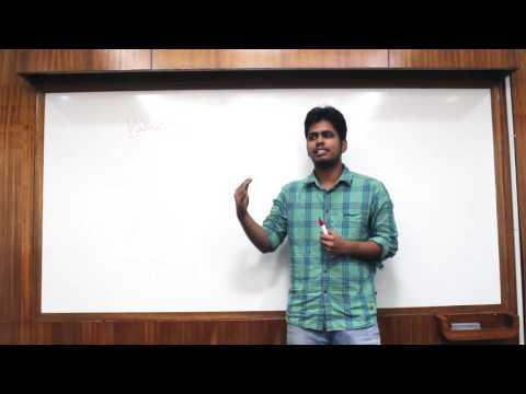 "Chandrashekar - ""Valuation of assets"" - pt.1"