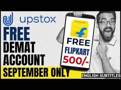 🔥🎁100% FREE demat account + Flipkart  Voucher 500/- 💰in 5 Minutes   Limited time offer   Upstox