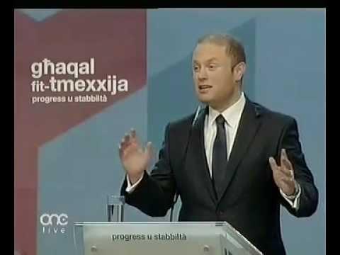 Joseph Muscat :: Diskors :: KG2012 :: Eghluq