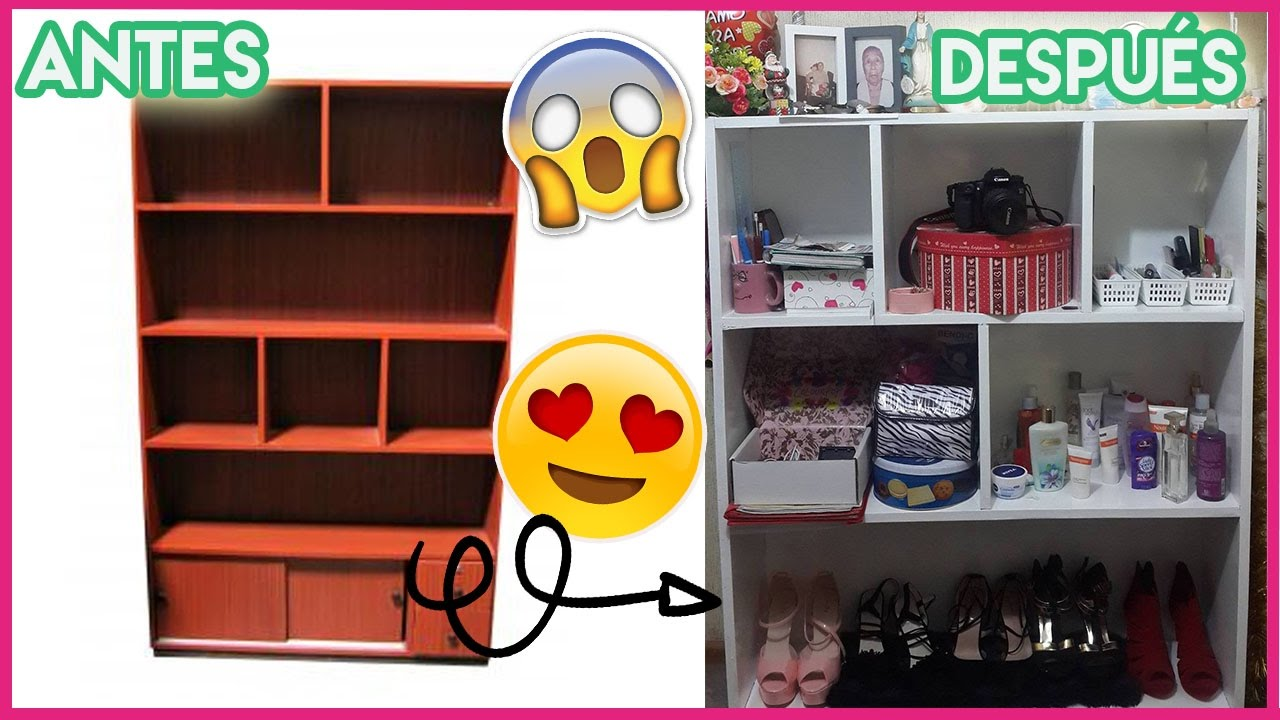 CÓMO RESTAURAR UN MUEBLE! DIY Transforma tus muebles viejos a nuevos ...