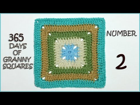 365 Days of Granny Squares: Number 2
