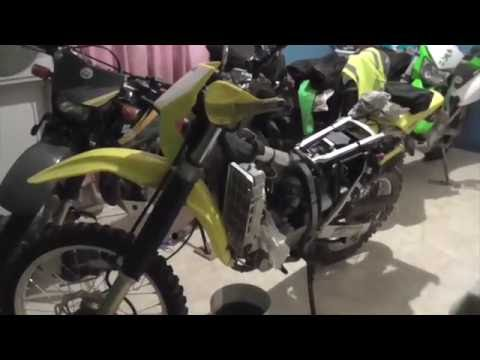 DRZ400 Top End Inspection