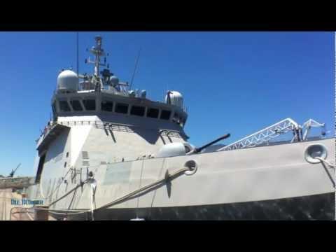 Spaanse Oorlogskip in Tafelbaai-hawe