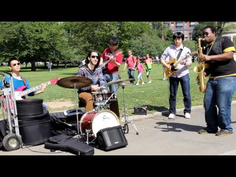 Jazz Band-Park street Boston
