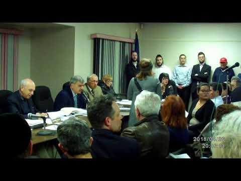 Chestnut Ridge Village board meeting 4/26/18 pt4