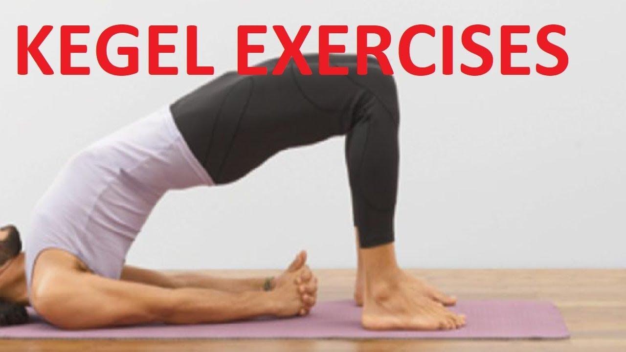 kegel exercises for men morning workout - YouTube
