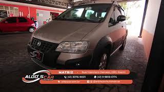 FIAT IDEA ADVENTURE 1.8 EM EXCELENTE ESTADO É AQUI NA ALDO'S CAR MULTIMARCAS