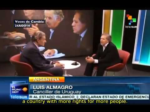 Luis Almagro: Uruguay has achieved more rights for more people
