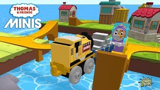 Thomas & Friends Minis #237   BUILD tons of exciting tracks! By Budge Studios