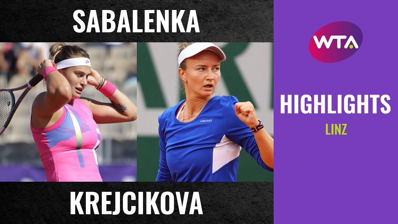 Aryna Sabalenka vs. Barbora Krejcikova | 2020 Linz Semifinal | WTA Highlights