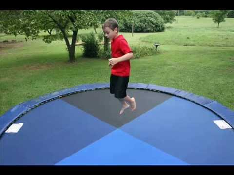 Custom Trampoline Mats With Various Colors And Fabric
