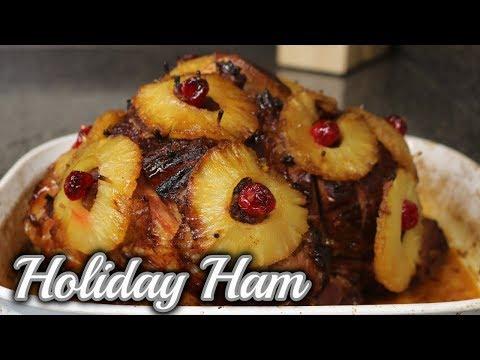 Pineapple Honey Glazed Ham - Thanksgiving Ham Recipe - Holiday Ham
