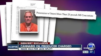 Man who gave Colorado's Jack Splitt cannabis oil charged with manufacturing