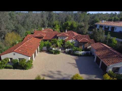 Custom Built Rancho Santa Fe Estate is Truly Reminiscent of an Italian Villa