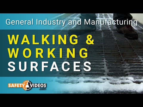 OSHA Walking and Working Surfaces Training Video