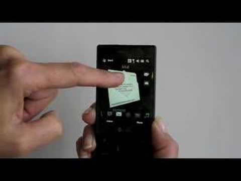 HTC Touch Diamond UI