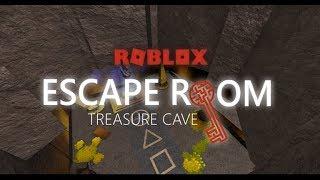 [ROBLOX] Escape Room Alpha Walkthrough - Treasure Cave[NEW]