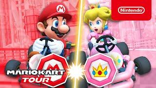 Mario Kart Tour - Mario vs. Peach Tour Trailer