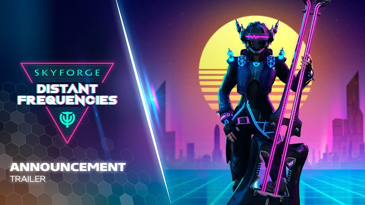 Skyforge Distant Frequencies $2500+ Giveaway - 60 Codes to Grab