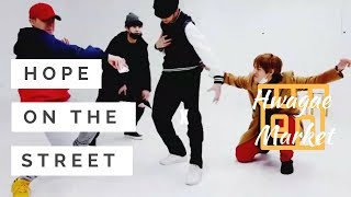 Hope On The Street X Hwagae Market || Freestyle by J-HOPE, SUGA, RM and V