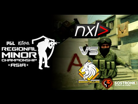 CS GO : NXL (Indonesia)  vs  GOODFELLAS (Brunei) - KESPA CSGO Minor Championship ASIA