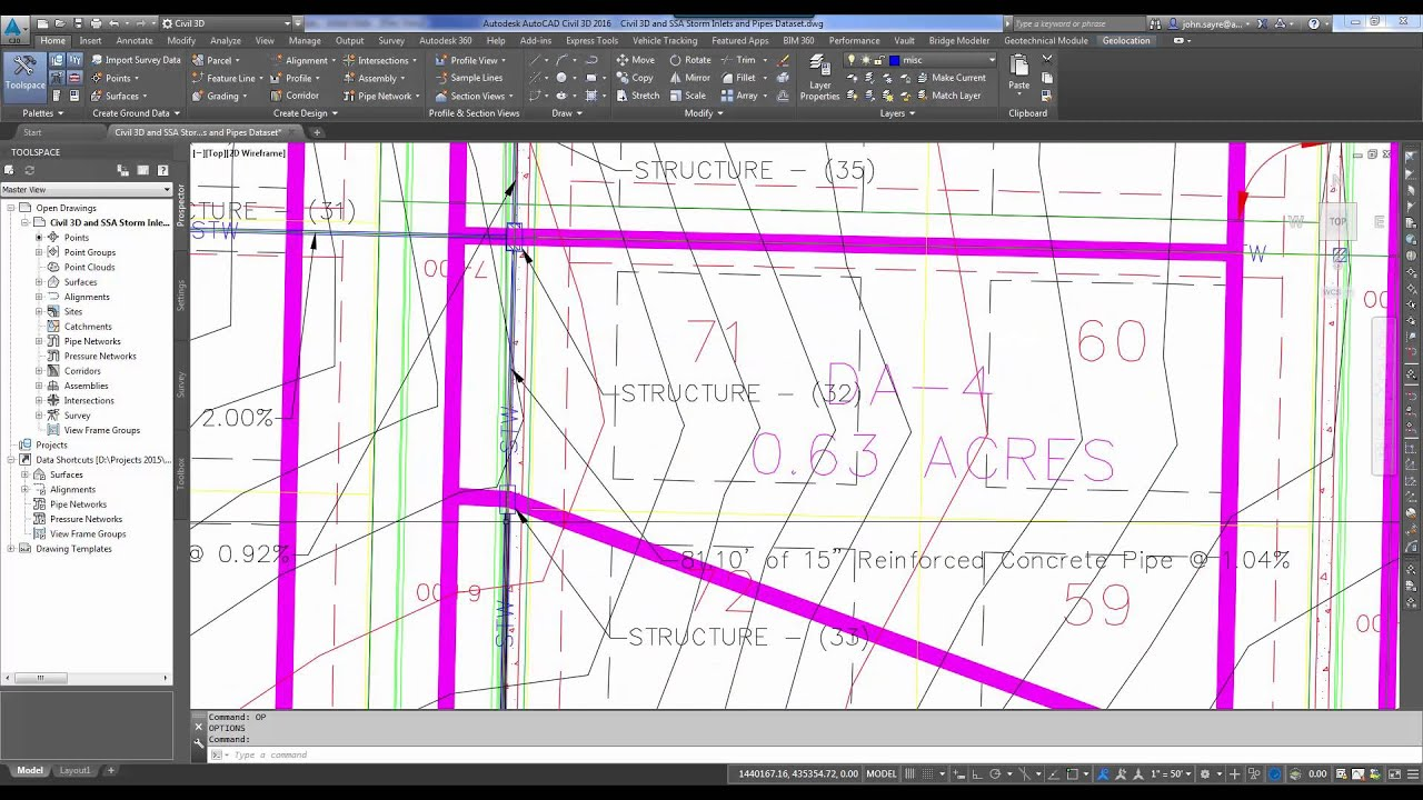 Civil 3D and SSA Workflow - Storm Water Inlet and Pipe Design Workflow
