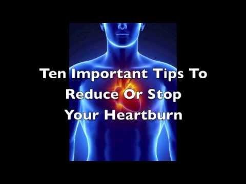 Ten Tips To Reduce or Stop Your Heartburn   Heartburn Relief Tips