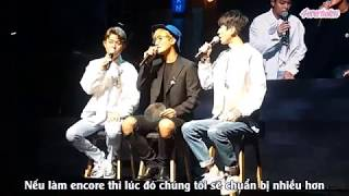 Vietsub Tony An S First Station K T L Debut TALK Cut