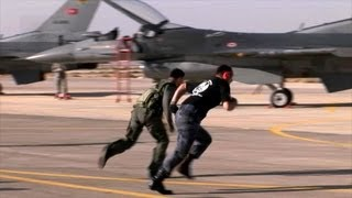 Jordanian, Turkish, American F-16 Pilots Compete in Falcon Air…
