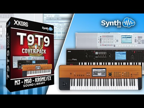 T9T9 Cover Pack - Sound Bank for Korg M3 / M50 / Krome (Synthcloud Library)