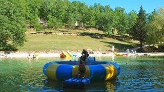 Camping Dordogne: un camping familial avec lac et jeux aquatiques, le Moulin de Surier
