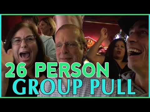 👫  26 Person HIGH LIMIT Group Pull 👫  at Seneca Niagara Casino ✦ $100/person on Slot Machines