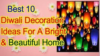 Best 10 Diwali Decoration  Ideas For  A Bright & Beautiful Home /#AMAZON#Diwali#ideas